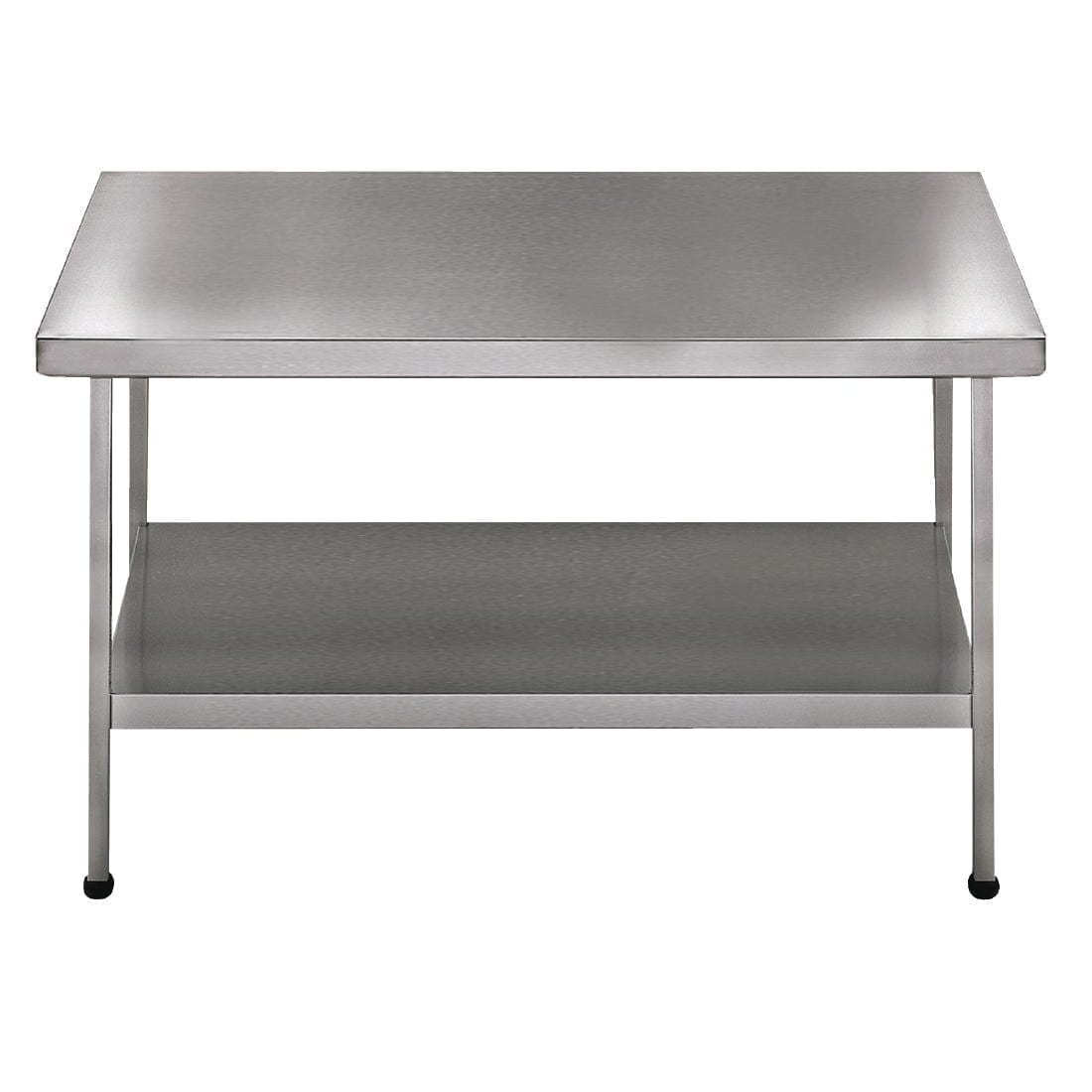 Sissons Centre Table St/St - 900x650mm F/Assembled (Direct)-0