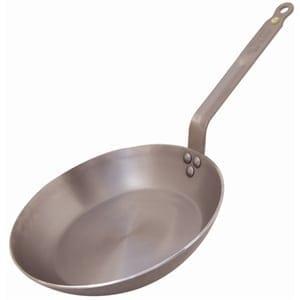 """De Buyer Mineral B Iron Frying Pan - 200mm 8""""-0"""