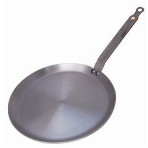 """De Buyer Mineral B Iron Crepe Pan - 240mm 9.5""""-0"""