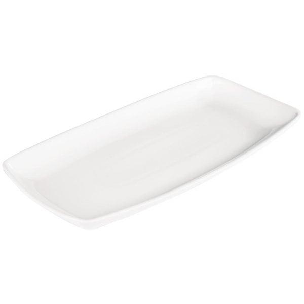 "Churchill X-Squared Oblong Plate - 350x185mm 13.75x7.25"" (Box 6) (Direct)-0"