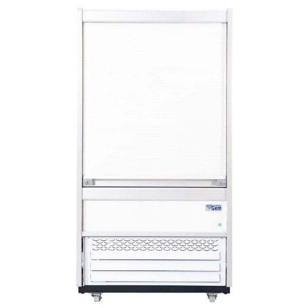 Williams Gem 960(w)mm 3 Shelf Slimline Multideck White - SecurT Shutter (Direct)-0