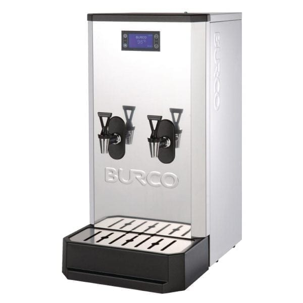 Burco Autofill Countertop Water Boiler Twin Tap 6kW with Filtration - 20Ltr-0