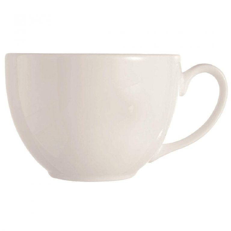 C&S Embassy White Cup - 7.75oz 220ml (Box 24) (B2B)-0