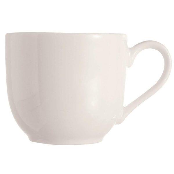 C&S Embassy White Cup - 8.8oz 250ml (Box 24) (B2B)-0