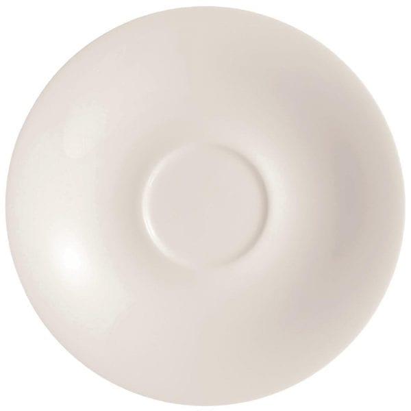 """C&S Embassy White Saucer - 4 3/4"""" 125mm (Box 24) (B2B)-0"""