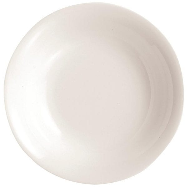 "C&S Embassy White Soup Plate - 190mm 7 1/2"" (Box 24) (B2B)-0"
