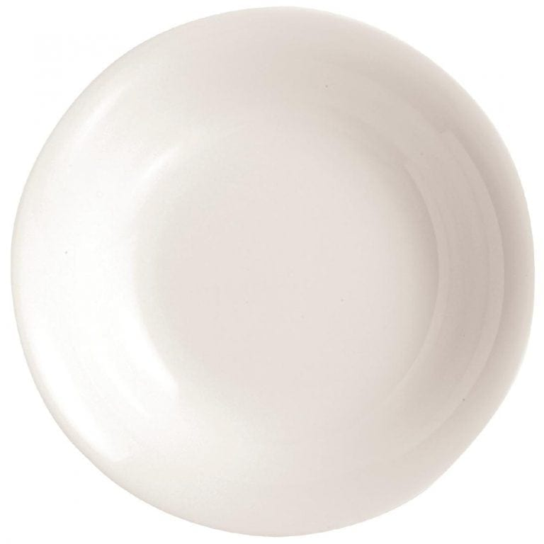 "C&S Embassy White Soup Plate - 190mm 7 1/2"" (Box 24) (B2B)-0"