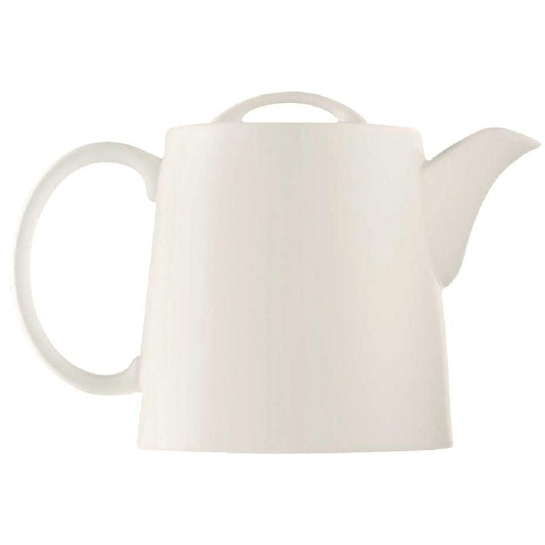 "C&S Embassy White Stackable Teapot - 13 1/2"" 340mm (Box 8) (B2B)-0"