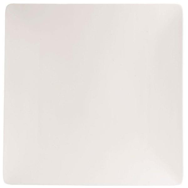 "C&S Purity Ultra Flat Square Plate - 11"" 280mm (Box 12) (B2B)-0"