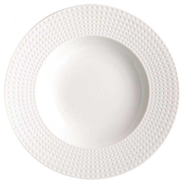 "C&S Satinique Deep Plate - 9 1/2"" 240mm (Box 24) (B2B)-0"