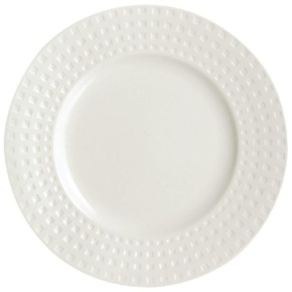 "C&S Satinique Flat Plate - 8 1/4"" 210mm (Box 24) (B2B)-0"