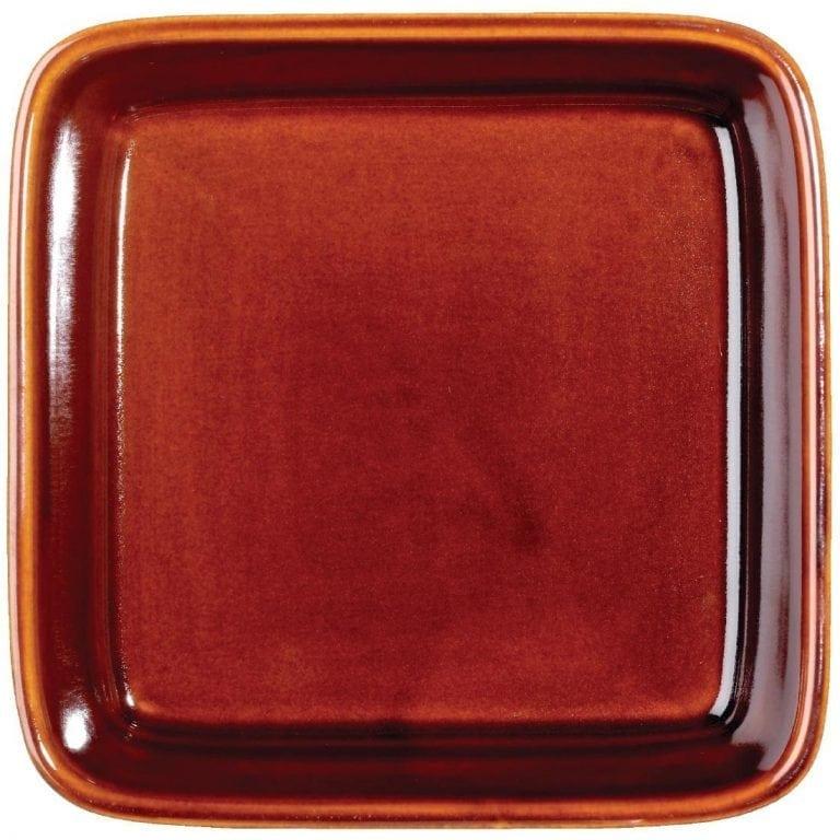 Art de Cuisine Rustics Simmer Square Deli Dish - 180mm 38.7oz (Box 6) (Direct)-0