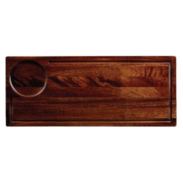 "Art de Cuisine Deli Wooden Board - 165x400mm 6.5x15.7"" (Box 4) (Direct)-0"