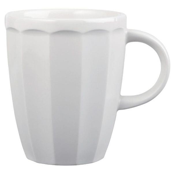 Churchill Just Desserts Mug White - 340ml 12oz (Box 12) (Direct)-0