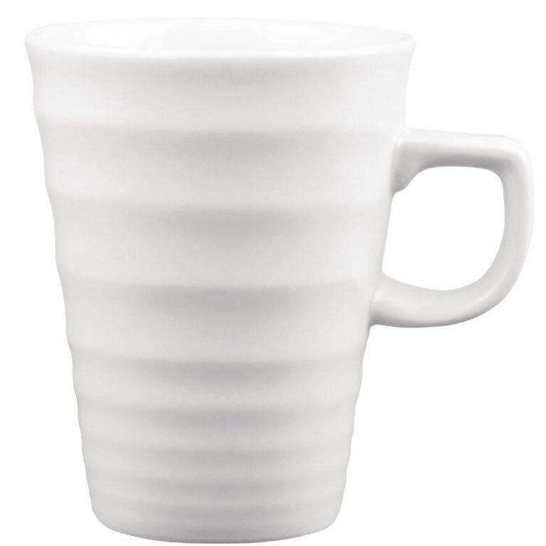 Churchill Beverage Collection Latte Ripple Mug - 224ml 8oz (Box 12) (Direct)-0