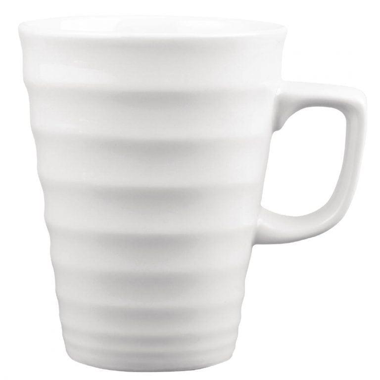 Churchill Beverage Collection Latte Ripple Mug - 340ml 12oz (Box 12) (Direct)-0