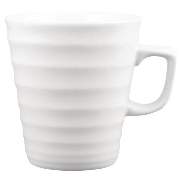 Churchill Beverage Collection Latte Ripple Mug - 440ml 16oz (Box 6) (Direct)-0