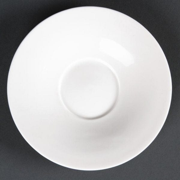Lumina Fine China Saucer - 140mm for Flare Cup 6oz 172ml (Box 12)-0
