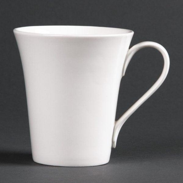 Lumina Fine China Flare Cup - 285ml 10oz (Box 12)-0