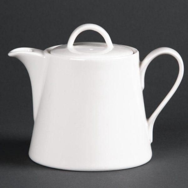 Lumina Fine China Beverage Pot - 540ml 19oz (Box 4)-0