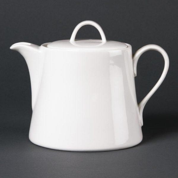 Lumina Fine China Beverage Pot - 880ml 30oz (Box 2)-0