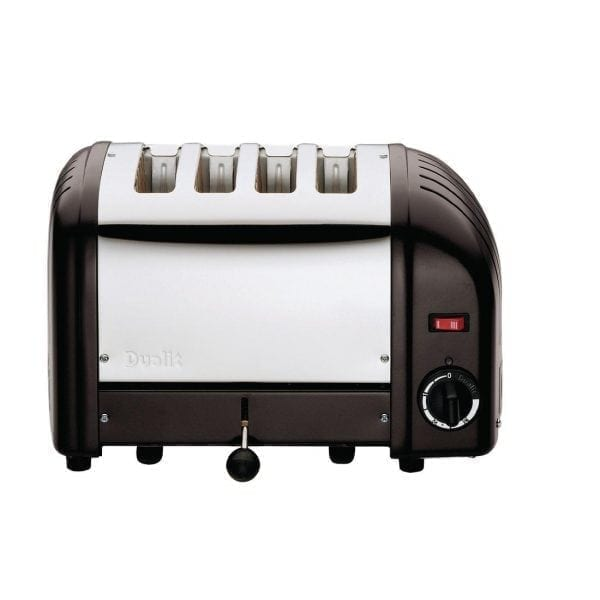 Dualit Classic Vario 4 Slot Toaster - Black-0
