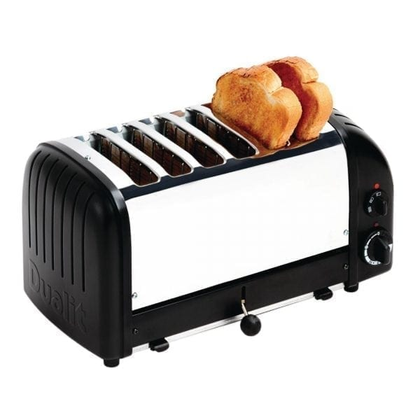 Dualit Classic Vario 6 Slot Toaster - Black-0