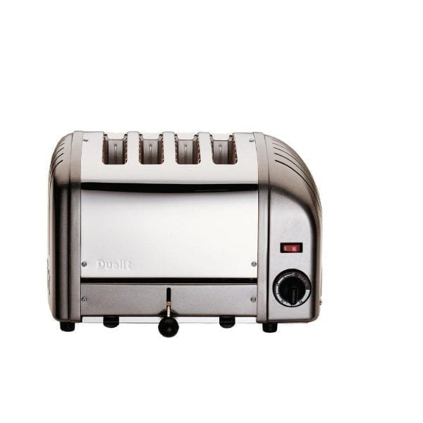 Dualit Classic Vario 4 Slot Toaster - Charcoal-0