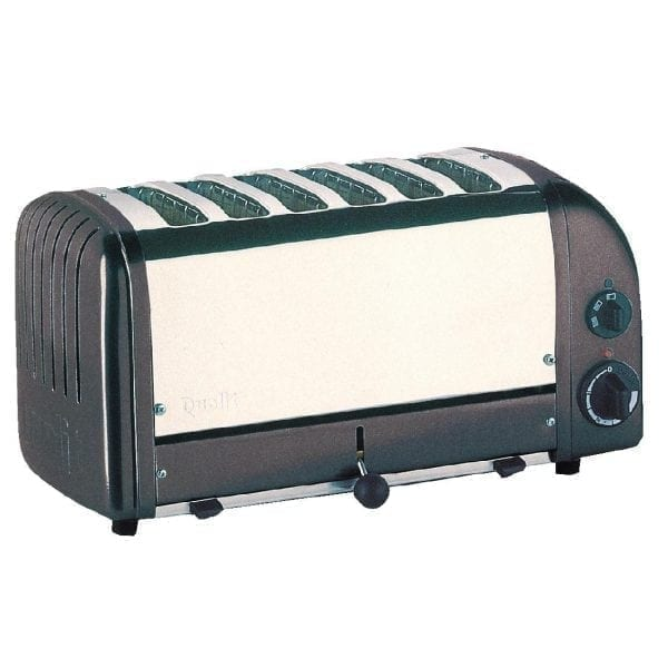 Dualit Classic Vario 6 Slot Toaster - Charcoal-0