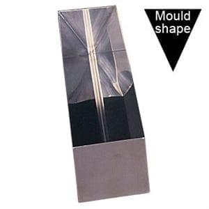 Vogue Terrine Mould St/St - 26x8x7.5cm (V Shape)-0