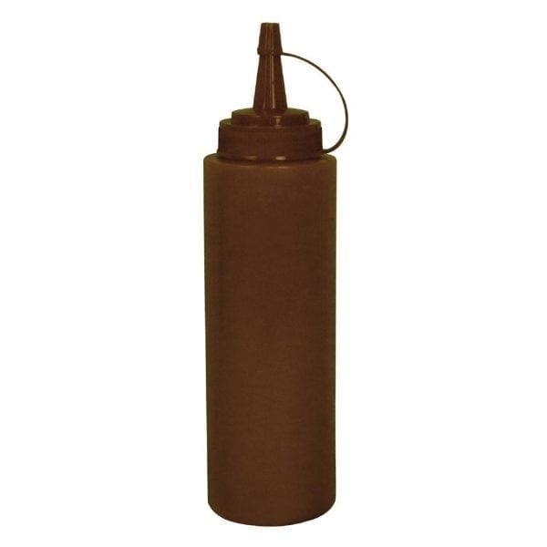 Vogue Squeeze Bottle Brown - 8oz-0