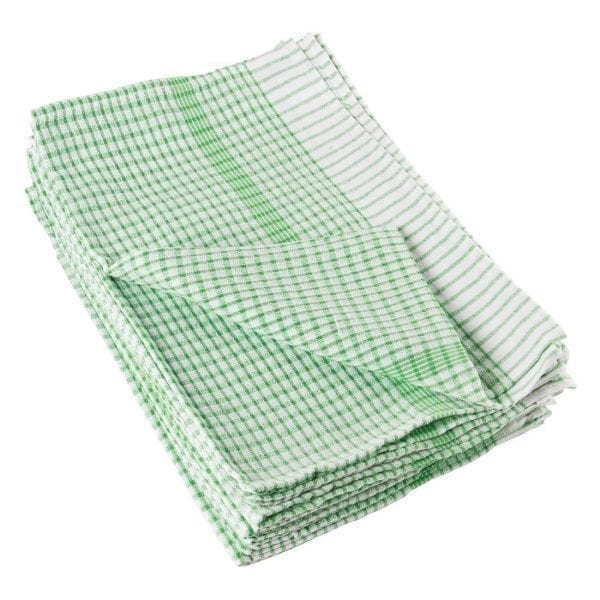 Wonderdry Tea Towel Green - 762x508mm (Pack 10)-0