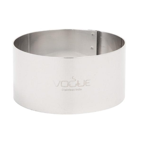 "Vogue Mousse Ring St/St - 70x35mm 2 3/4x1 3/8""-0"
