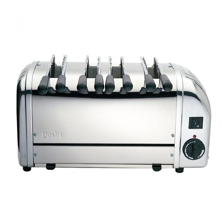 Dualit - Stainless Plus 4 Slot Sandwich Toaster-0