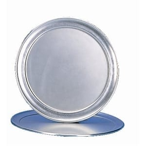 "Pizza Tray Aluminium - 14""-0"