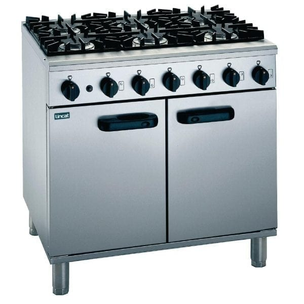 Lincat Silverlink 6 Burner Gas Range - Nat Gas (Direct)-0