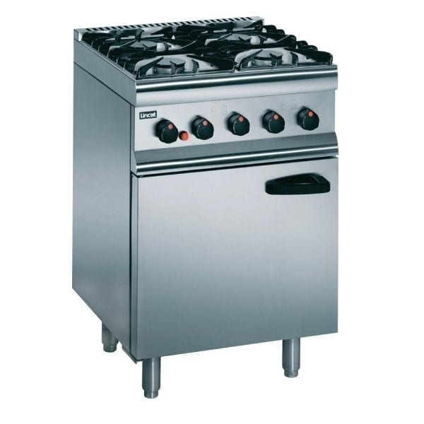 Lincat Silverlink 4 Burner Gas Range - Nat Gas (Direct)-0