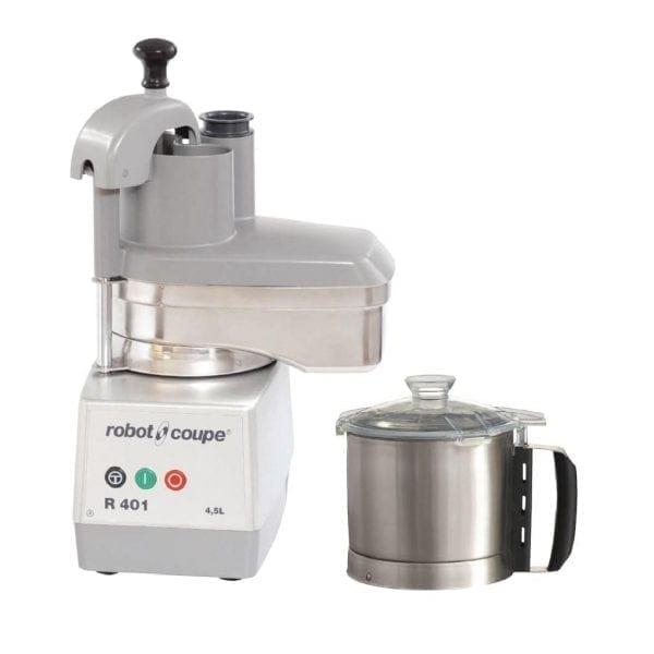 Robot Coupe R401 Food Processor/Veg Prep Attachment - 4.5Ltr-0