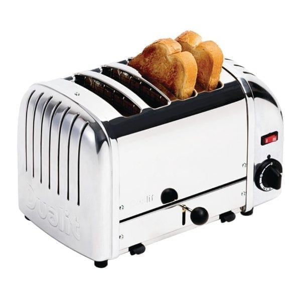 Dualit Stainless Plus 4 Slot Toaster-0