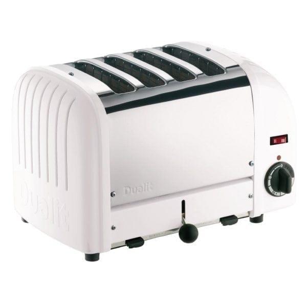 Dualit Classic Vario 4 Slot Toaster - White-0