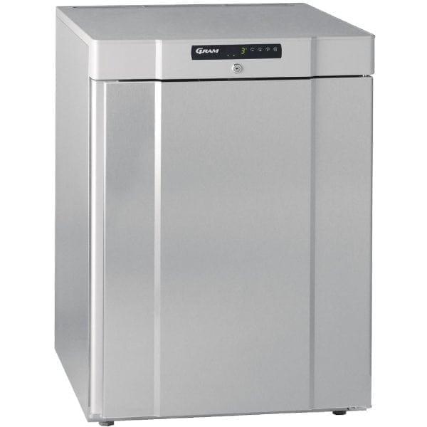 Gram Compact 1 Door 125Ltr Undercounter Freezer R600a(St/St Ext/ABS Int)(Direct-0