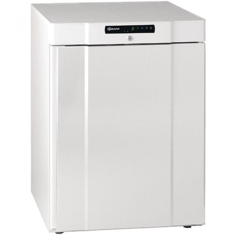Gram Compact 1 Door 125Ltr Undercounter Freezer R600a (Whi Ext/ABS Int) (Direct)-0