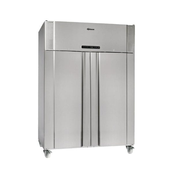 Gram Plus F 1270 RSH C 8N 2 Door 1270Ltr Cabinet Fridge(St/St Ex Alu In)(Direct)-0