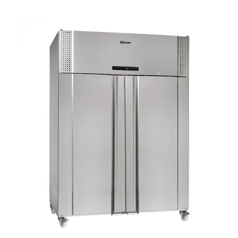 Gram Plus M 1270 CXH C 8N 2 Door 1270Ltr Cabinet Meat Fridge(StSt Ex/In)(Direct)-0
