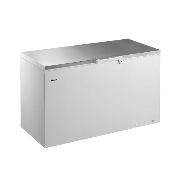Gram CF 447Ltr Chest Freezer R134a (Whi Ext/St/St Lid/Alu Int) (Direct)-0