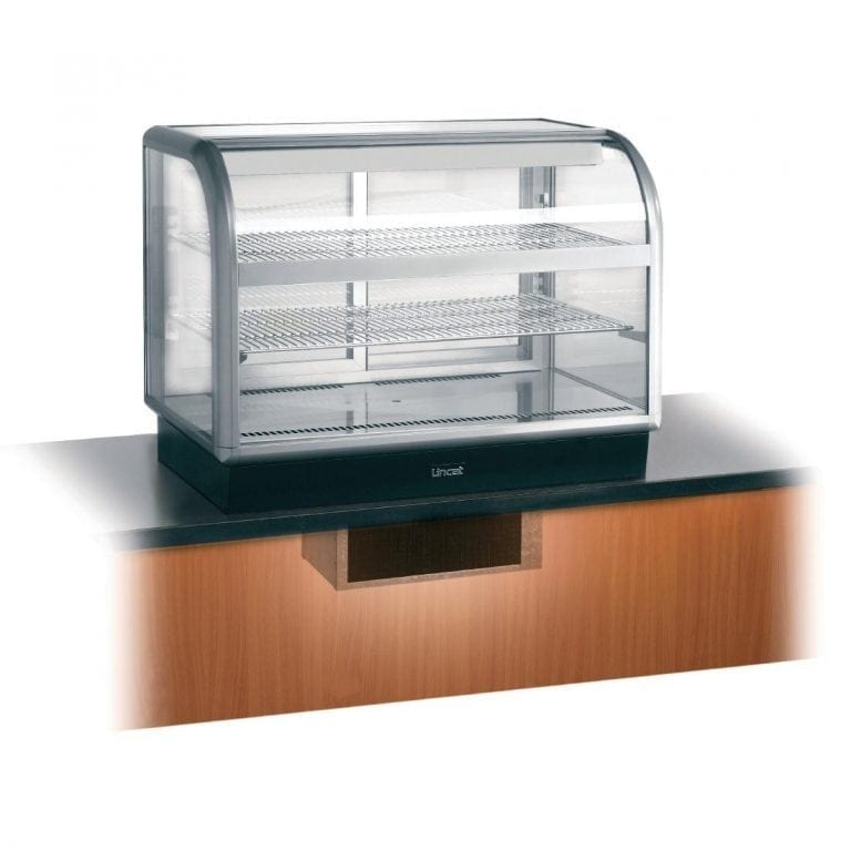 Lincat Seal Curved Front Refrig Self Serve - 755Hx1000Wx650D (Direct)-0