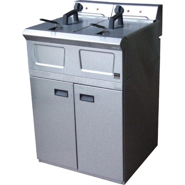 Falcon Pro-Lite Freestanding Fryer LD48 - 2 x 8Ltr (Direct)-0