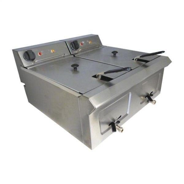 Falcon Pro-Lite Tabletop Fryer - 2 x 7Ltr (Direct)-0