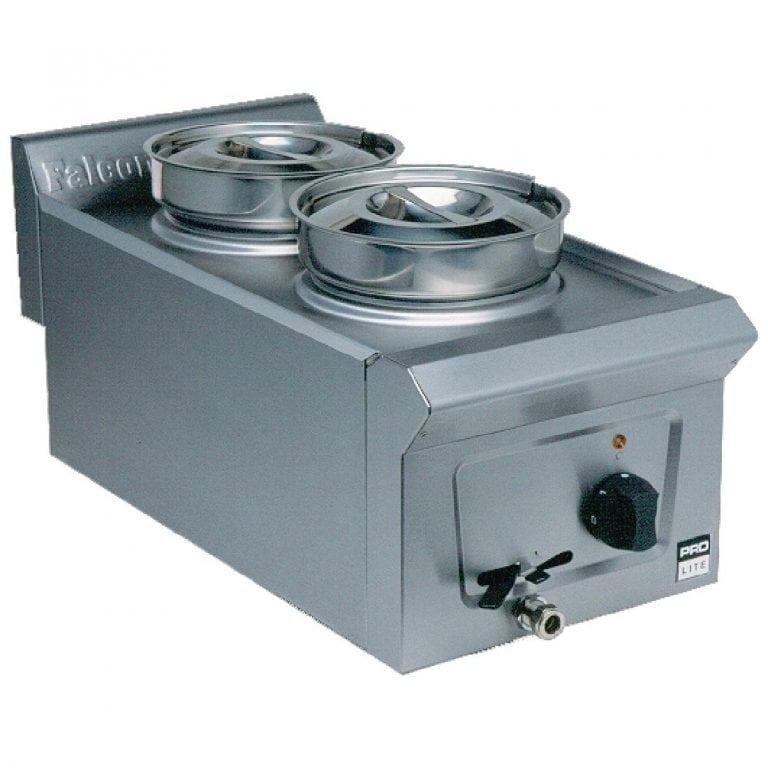 Falcon Pro-Lite Bain Marie Dry - 2 Pot (Direct)-0
