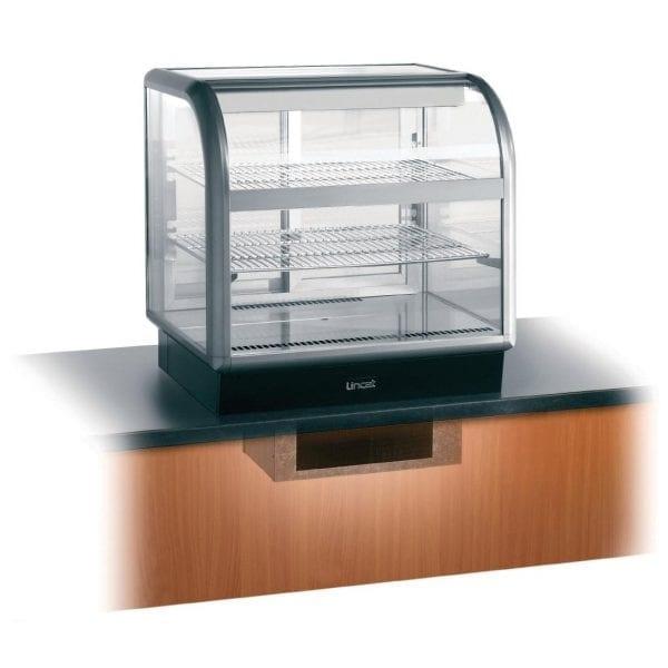Lincat Seal Curved Front Refrig Self Serve - 755Hx750Wx650D (Direct)-0
